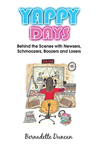 Amazon.com: Yappy Days: Behind The Scenes With Newsers, Schmoozers ...