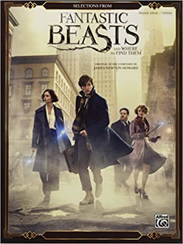 aa39f4d66aa Selections from Fantastic Beasts and Where to Find Them  Piano Solos   Amazon.co.uk  James Newton Howard  0038081526928  Books
