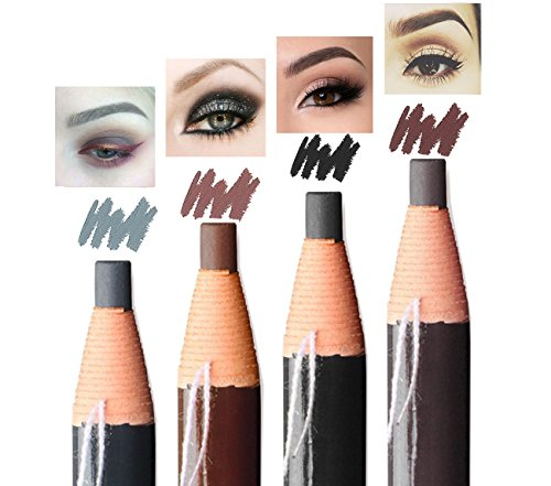 Eyebrow Pencil Long Lasting Waterproof Easy To Color Durable Peel Off Pull Cord Brow Pen Makeup Cosmetic (light coffee)