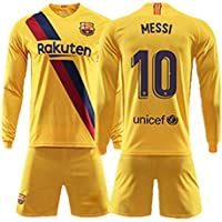 Barcelona Away KIT Full Sleeve with Messi Printed 2019-20