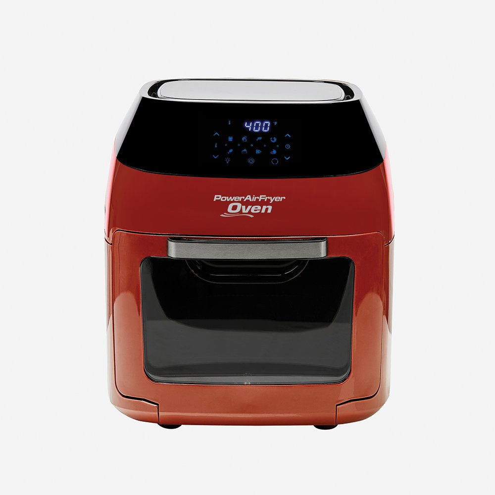 8 QT Family Sized Power Air Fryer Oven with 7 in 1 Cooking Features with Professional Dehydrator and Rotisserie