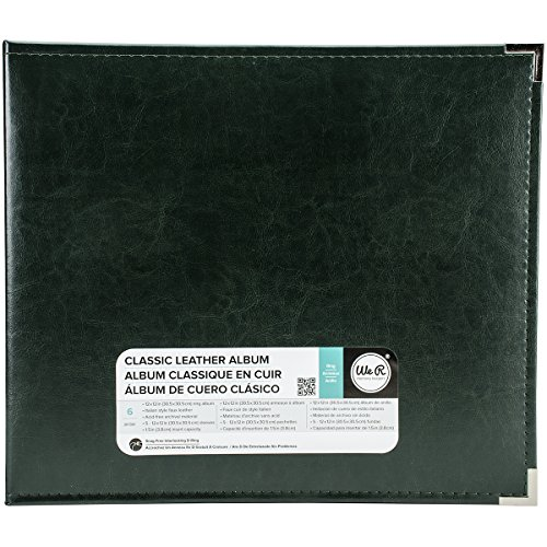 American Crafts 660915 We R Memory Keepers Classic D-Ring Scrapbooking Album, 12