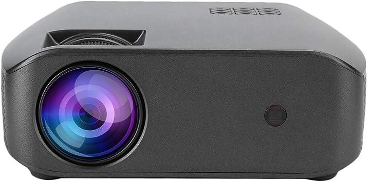 Opinión sobre T osuny Proyector doméstico portátil 720P Cine en casa Cine en casa con Mejor uniformidad Soportes de Chip Amplificador(European regulations)