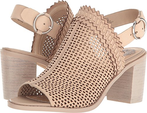 Vince Camuto Women's Tricinda Heeled Sandal Shell 9.5 Medium US from Vince Camuto