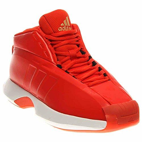 Adidas Performance Mens Crazy 1 Basketball Sneakers Orange Size 11