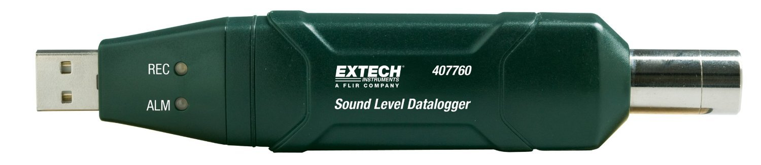 Extech SOUND LEVEL DATALOGGER WITH NIST, 407760 by Extech