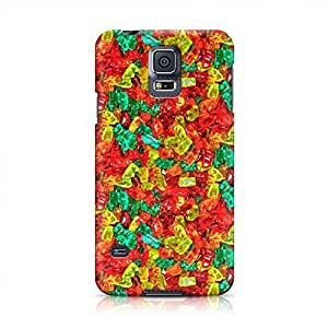 Candy Sweet Sugar Food Hard Plastic Snap-On Case For Samsung Galaxy S5 by runtopwell