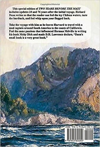 Two Years Before The Mast: Richard Henry Dana: 9781945644054 ...