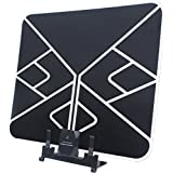 VECTORCOM 50 Miles Range Amplified HDTV Antenna Indoor Antenna Ultra Thin HDTV Antenna With Detachable Amplifier Singnal Booster TRD-3907A