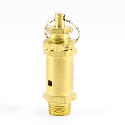 """Sourcingmap a13050200ux0506-3/8""""válvula de seguridad del compresor de aire de rosca"""
