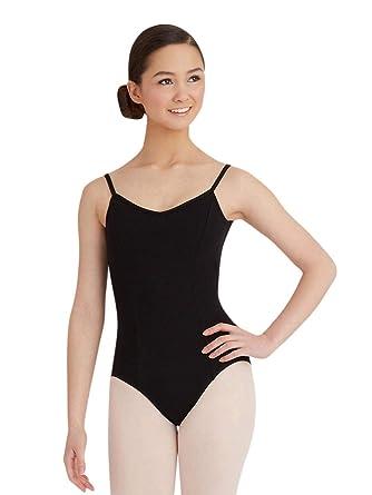 J/&E/&E-Maillots Maillot de Danza,Gimnasia Leotardo Modelo cl/ásico para ni/ñas Estirable de Ballet Body de Tirante