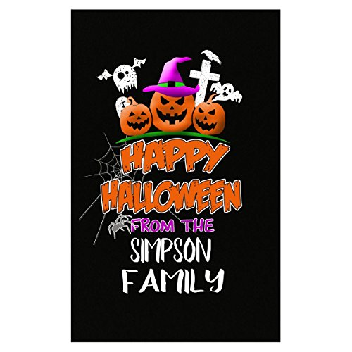 Prints Express Happy Halloween from Simpson Family Trick Or Treating - Poster