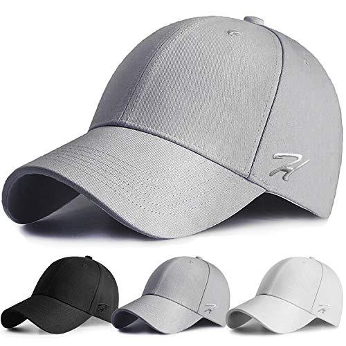 AOHAN Baseball Cap Women Men Baseball Hat Adjustable Cotton Classic Cap for Running Cycling Hiking Golf