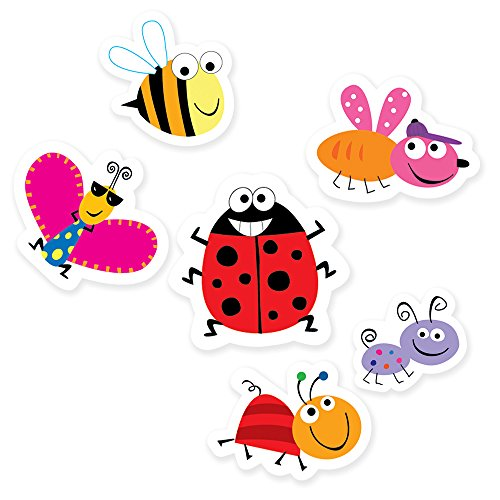 Ladybug Cut Outs (Creative Teaching Press Bugs 6-Inch Designer Cut-Outs (CS91104))