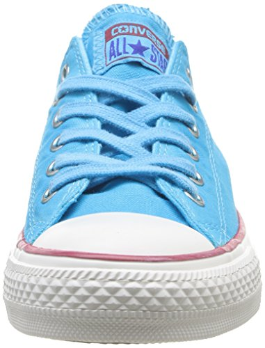 Converse Chuck Taylor All Star Wash Ox - Zapatillas de Deporte de canvas Unisex azul - azul