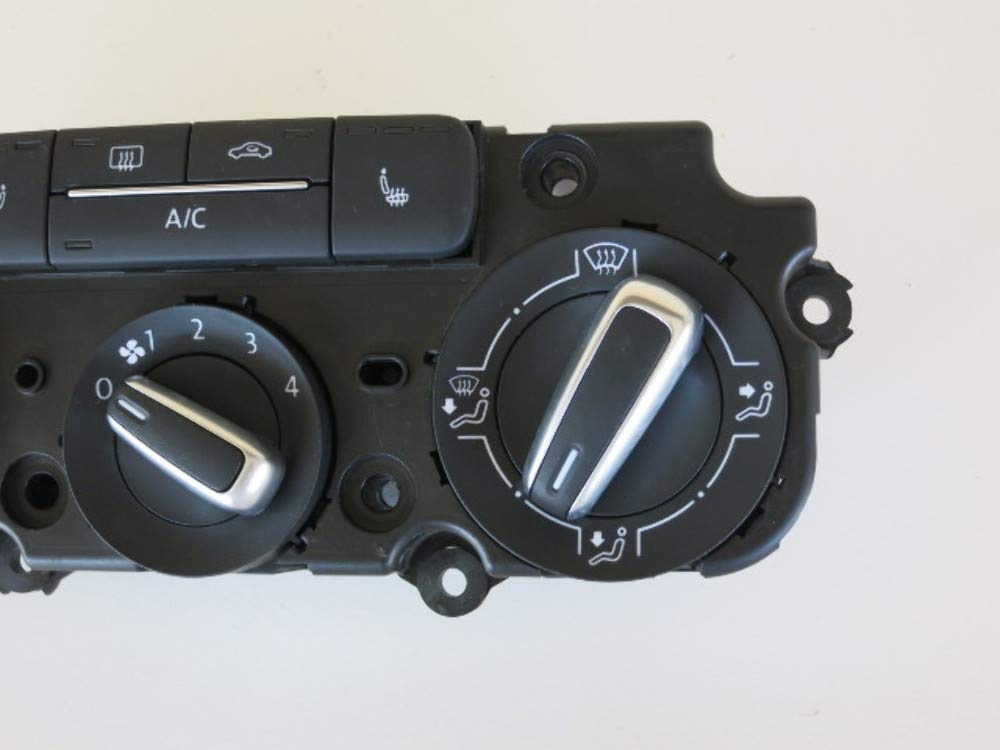 Volkswagen 11-17 VW Jetta Sedan Climate Control Panel Temperature Unit A//C Heater