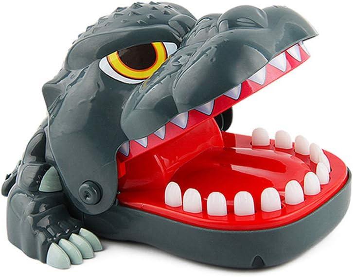 Sipobuy Dinosaurio Dentista Mordida Dedo Juguete Divertido Juguete Tricky Juego de Mesa Divertido Interactivo Kids Family Toys Party Favor Cumpleaños