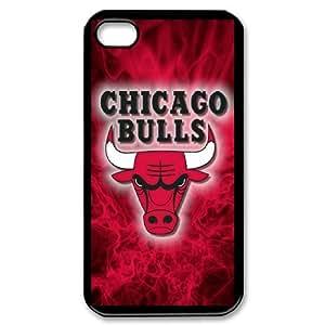 Language still DIY Case Chicago Bulls For iPhone 4,4S QQW803336