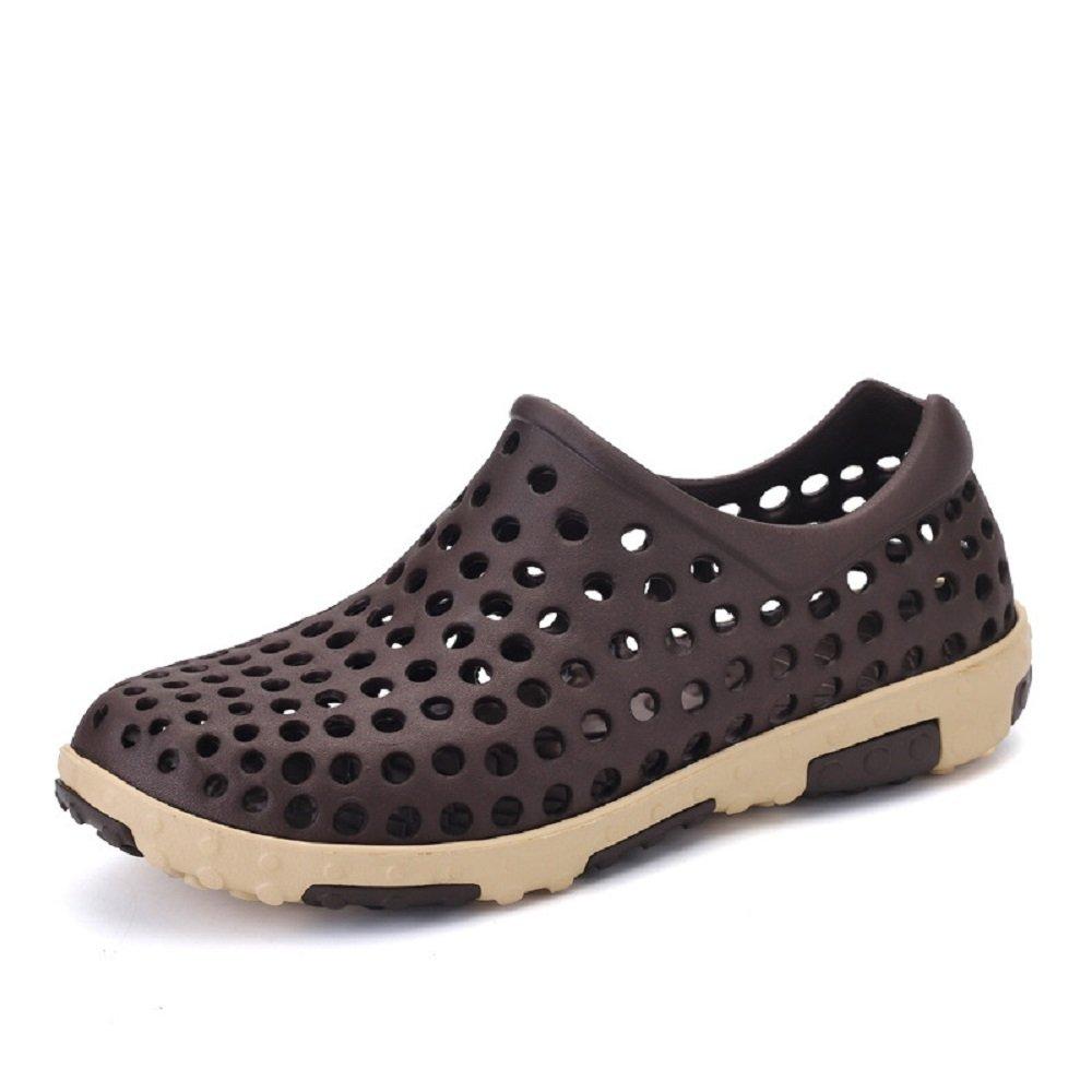 WAZZIT Men's Light Comfortable Breathable Summer Sandals Anti-Slip Sports Clog Shoes