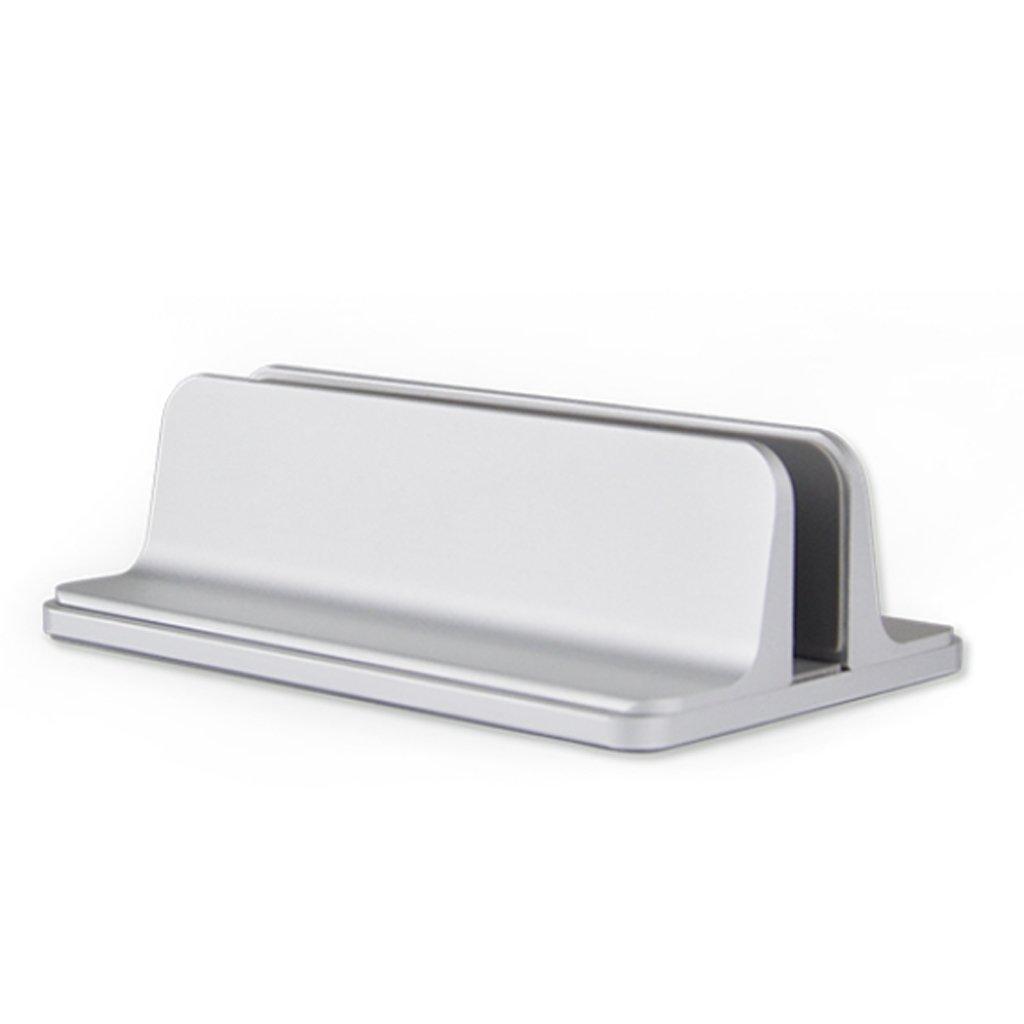 XY Soap dish Notebook Stand, Vertical Aluminum Notebook, Computer Desktop N17 Storage Stand Universal, Circular 2.5D Design, Notebook Cooling Stand, 9.5cm 15cm 1.5cm, 6.5cm