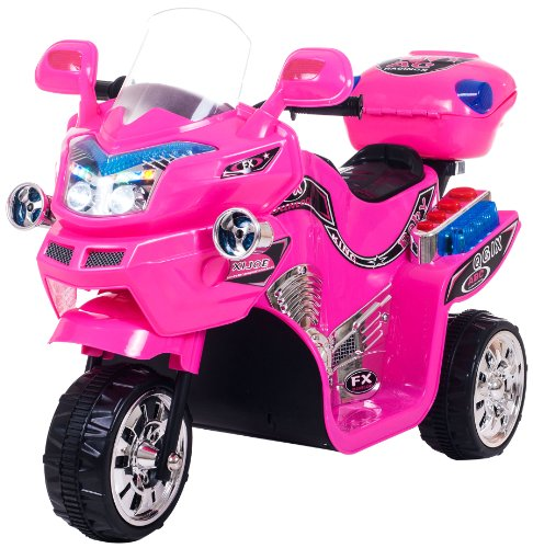Ride on Toy, 3 Wheel Motorcycle for Kids, Battery Powered Ride On Toy by Lil Rider