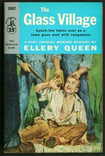 Ellery Queen The Glass Village noir pb lynch - Glasses Ellery