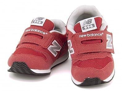 5df9255718f81 Amazon   [ニューバランス] 女の子 男の子 キッズ ベビー 子供靴 ベビーシューズ スニーカー ベルクロ FS996 CRI 1008173  レッド 13.5cm   new ...