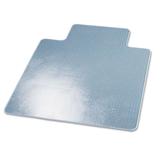 Supermat Vinyl (deflecto CM14233 Beveled Clear 45x53 w/Lip Medium Pile Carpet SuperMat Frequent Use Chair Mat)