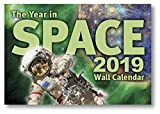 The Year in Space 2019 Wall Calendar, Large Format 16' x 22' When Open, Over 120 Astronomy & Space Exploration Images, Moon Phases, Space History, Sky Events