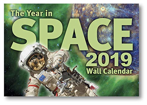 The Year in Space 2019 Wall Calendar, Large Format 16