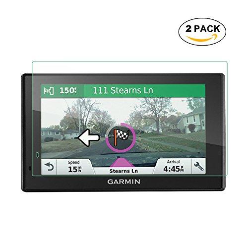 LFOTPP 2PCS GLASS Garmin DriveSmart 60 NA LMT 62 56 LMT 6 Inch GPS Screen Protector, 9H Tempered GLASS Guard Shield Scratch-resistant Ultra HD Extreme Clarity