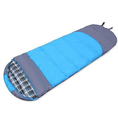 Saco de dormir para acampar , saco de dormir de algodón engrosado para adultos al aire libre ...