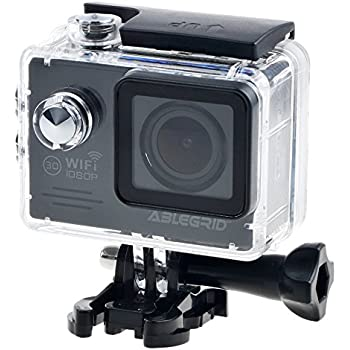 """ABLEGRID SJ5000 WIFI Novatek 96655 12MP 2.0"""" LCD 1080P 170 Degree Wide Angle Sports DV Waterproof Action Camera Camcorder Outdoor for Bicycle Motorcycle Diving Swimming Black"""