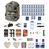 Combo Survival Kit Four For Earthquakes, Hurricanes, Floods, Tornados, Emergency Preparedness