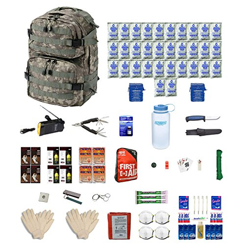 Combo Survival Kit Four For Earthquakes, Hurricanes, Floods, Tornados, Emergency Preparedness by Zippmo Survival Gear