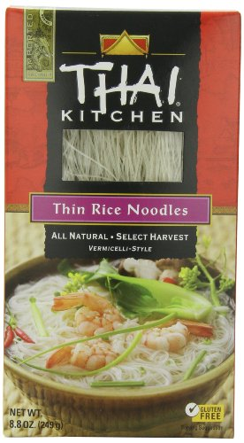 Thai Kitchen Thin Rice Noodles, 8.8 Ounce (Pack of 12)