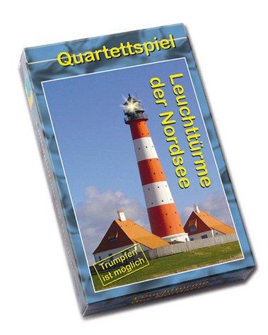Quartettspiel Leuchttürme der Nordsee idee & konzept