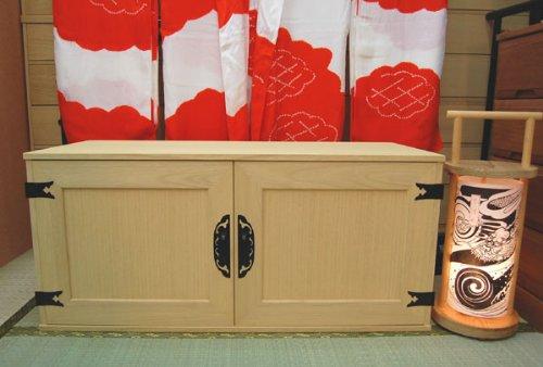 桐たんす とのこ仕上げ 観音開き Bタイプ 桐タンス 桐たんす  【国産】 【日本製】 B005NT6HNW