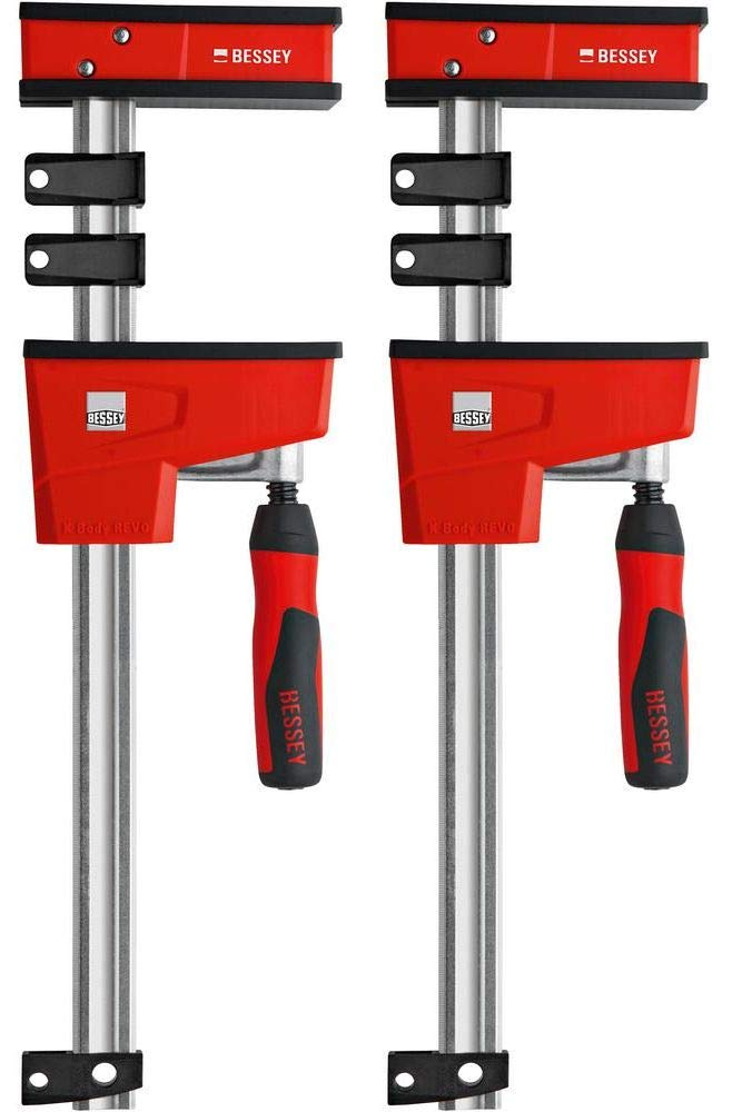 BESSEY KRE3524 PAIR 24'' K Body REVO Parallel Bar Clamp Now With Hex Key Clamping