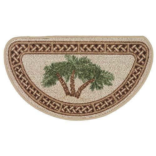 Bella Coastal Decor Rattan Palm Berber Slice -