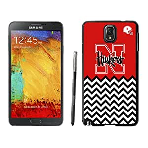 Fashionable And Unique Custom Designed With Ncaa Big Ten Conference Football Nebraska Cornhuskers 19 Protective Cell Phone Hardshell Cover Case For Samsung Galaxy Note 3 N900A N900V N900P N900T Black
