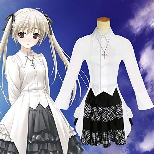 chajijung Kasugano Sora Cosplay Costumes Yosuga no Sora Lolita Dress (Yosuga No Sora Cosplay Costume)