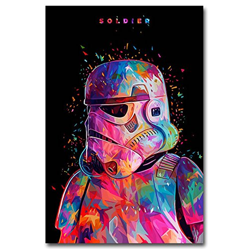 MingTing - Star Wars Movie Picture Minimalist Art Canvas Poster 24