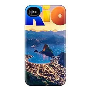 New Amazing Rio Movie Tpu Case Cover, Anti-scratch Ifans Phone Case For Iphone 4/4s hjbrhga1544