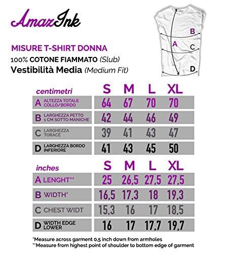 T Nero Vintage Femme Amazink shirt FHwSqC