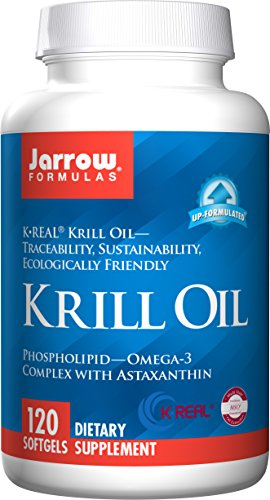 Jarrow Formulas Jarrow Formulas Krill Oil, Supports Brain, Memory, Energy, Cardiovascular Health, 120 Softgels Review