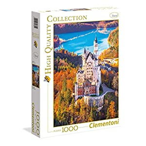 Clementoni 39382 High Quality Collection Puzzle Neuschwanstein 1000 Pezzi