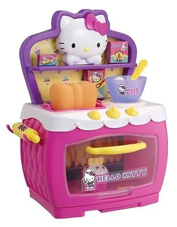 Hello Kitty - Horno mágico de juguete con accesorios: Amazon.es ...