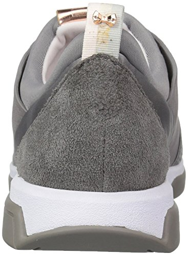 Grey Lthr Women''s Baker Pump Af Ted Cepa Dark 1p0wacq