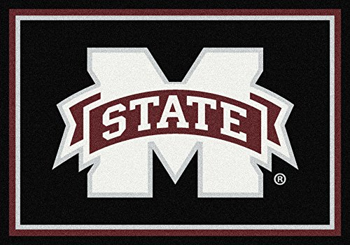 American Floor Mats Mississippi State Bulldogs NCAA College Team Spirit Team Area Rug 3'10